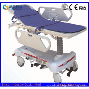 Electric Hydraulic Emergency Multi-Purpose Hospital Transport Stretchers