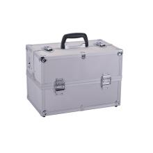 Caja de herramientas profesional de almacenamiento con cerradura Caja de vuelo de aluminio