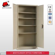 Adjustable shelves swing metal file cabinet cupboard