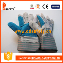 Ddsafety Reinfored Double Leather Glove-Dlc327