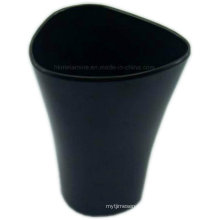 New Deign Black Melamine Waste Can