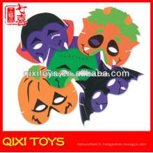 Monster halloween citrouille / masques de chauve-souris enfants masques d'halloween en peluche