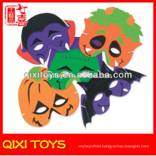 Monster halloween pumpkin/ bat masks children plush halloween masks