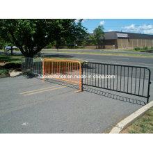 Crowd Control Steel Barricade - Orange