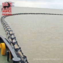 High quality rubber floating permanent containment boom