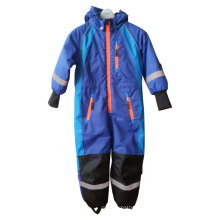 Sealant Quilted Conjoined Raincoat for Children