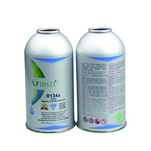 R134a refrigerant gas DOT can