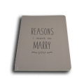 New premium stationery fashion design recycled writing notebook hardcover notebooks