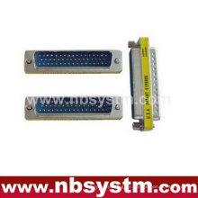 Db50 männlich zu männlichen Geschlecht Wechsler Mini Adapter blau