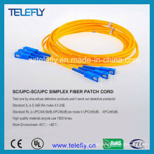 Sc Fiber Optic Jumper, Sc Jumper Kabel