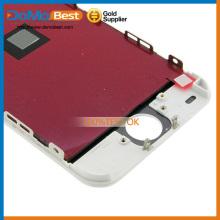 Alta calidad buen precio, redondo pantalla lcd, vidrio de la pantalla táctil para el iPhone 5 lcd C