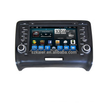 Андроид 4.4 5.1 для Ауди ТТ/мультимедиа автомобиля DVD GPS навигационная система с GPS БТ Беспроводной доступ в интернет
