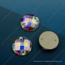 Ab Color Cousez sur Stones Beads