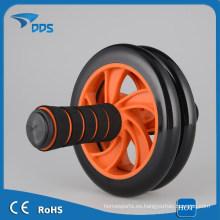 Doble AB ejercicio fácil de usar y llevar casa gimnasio ejercicio rueda rueda AB