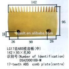 Plaque de peigne ABS d'escalator