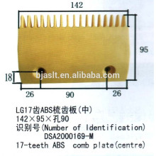 Escalator ABS comb plate