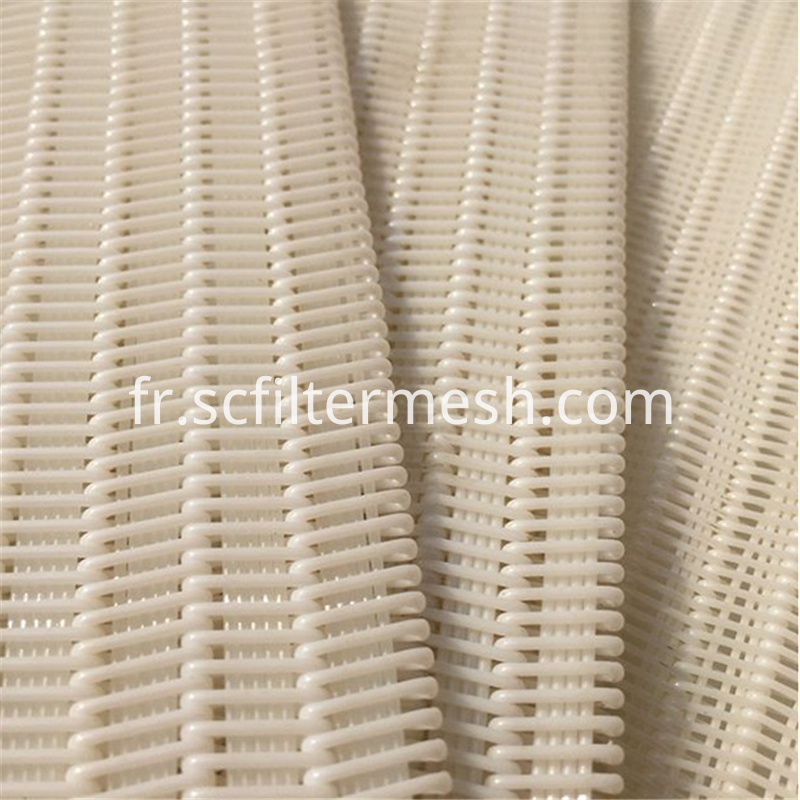 White Polyster Fabric