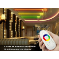 Sistema de controle LED RGBW 2.4G touch screen