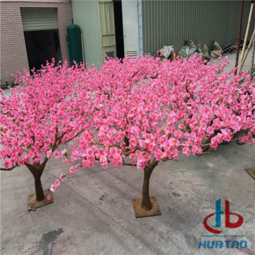 PU Pink Artificial Flower Tree