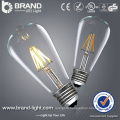 2W 4W 6W ST64 LED Filament Bulb Light With E27 Lamp Holder, CE RoHS