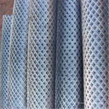 Malha expandida galvanizada ou revestida do PVC do metal