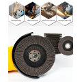 Discos flap de rodas de esmerilhamento para metal