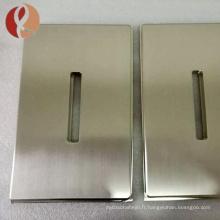 Vente chaude titane pulvérisation cible cible titane pur plaque