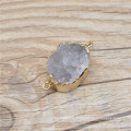 Wholesale Hot Selling Fashion Natural Druzy Black Stone drusy Pendant