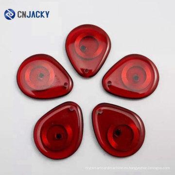 Nuevo diseño transparente Color Jelly RFID Key Fob