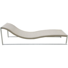 Outdoor Beach Wicker Rattan Chaise Lounge