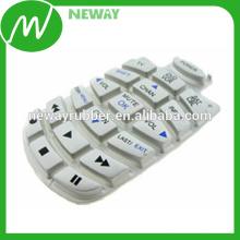 Teclado eletrônico personalizado de silicone