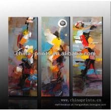 Pintura a óleo abstrata na lona / pintura feita sob encomenda / pintura da lona