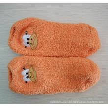 Уютные носки с рисунком вышивка животных