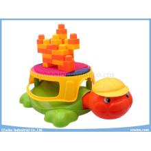Multifunctional Blocks Toys Musical Tortoise Chair Educational Toys