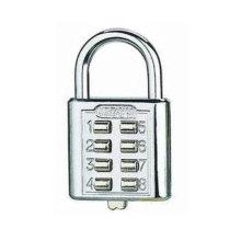 Zinc Alloy Electroplate Combination Button Type Padlock