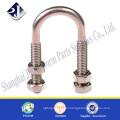 Good quality u bolt and nut High strength U bolt 304 stainless steel U bolt