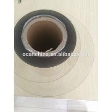 Rollo de película grueso grueso del animal doméstico de 0.4mm para el envase del alimento que forma al vacío