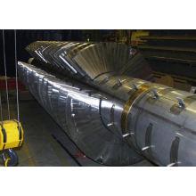 Secadora del remo de la serie KJG 2017, secador de los SS con el vapor, secador de transportador usado ambiental para la venta