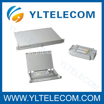 Patchpanel FO tampa aberta
