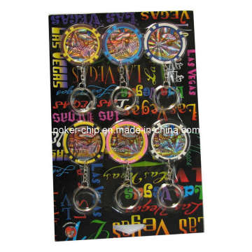 6PCS Keychain Chip in Blister Card (SY-S02)