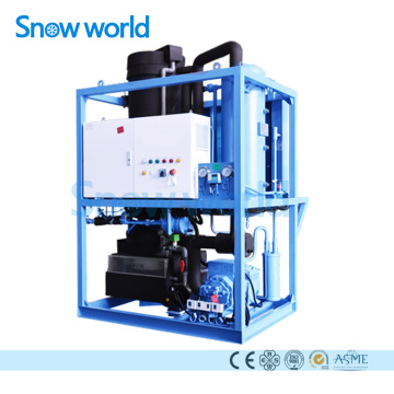 Snow world 10T Evaporateur de machine à glace en tube