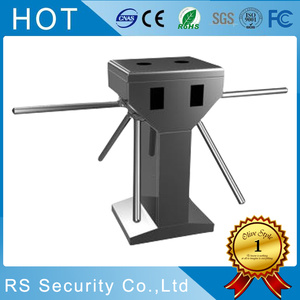 Stainless Steel Gym Entrance Security Tripod Turnstile
