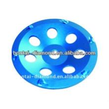 Herramienta de diamante PCD taza de rueda para la pintura de eliminación de pegamento