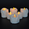 Titisan lilin LED bateri Tealight lilin