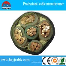XLPE Cable de alimentación de PVC con aislamiento de PVC (YJV YJLV)
