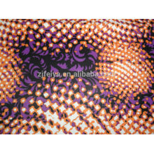 POLYESTER WAX West African Printed Damask Shadda Fabric Fashion Guinea Brocade Garment Cheap Textiles