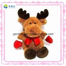 Brown-Ren-kundenspezifisches Weihnachtsplüsch-Spielzeug (XDT-0184)