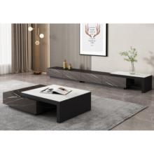 Современный лаконичный дизайн гостиной под телевизор
