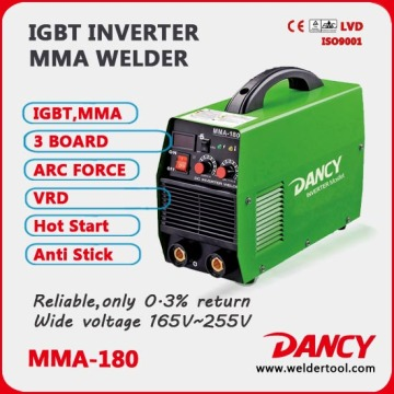 180amp mma Dc Welding Machines