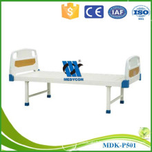 Patient use flat bed metal medical bed